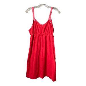 Lacoste Sz Lg Tank Jersey Dress